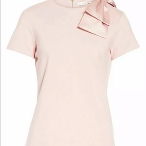 Ted Baker London Tops - NWT Ted baker London Joyous bow shoulder top $159